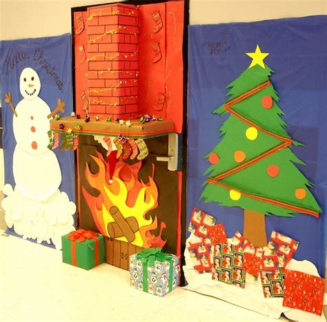 how to decorate doors and chimeny for christmas door decorations ideas for the front and interior doors