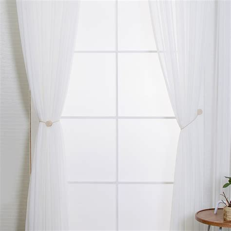 magnetic tie backs for curtains magnetic curtain tie backs soozone