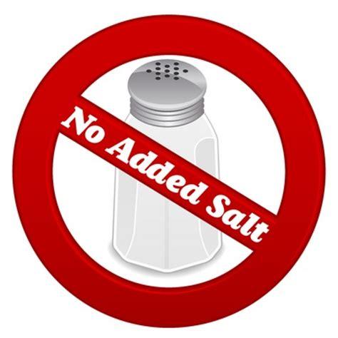 No Salt Detox Diet by Sodium Clipart Clipground
