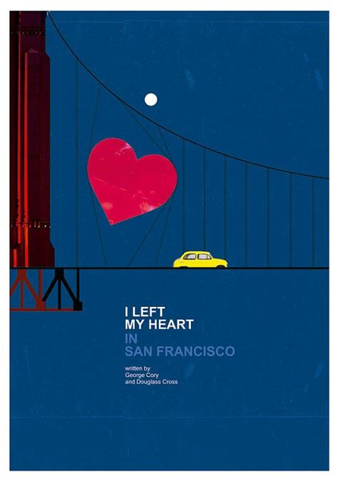 I Left My In by I Left My In San Francisco A3 Print Jazz