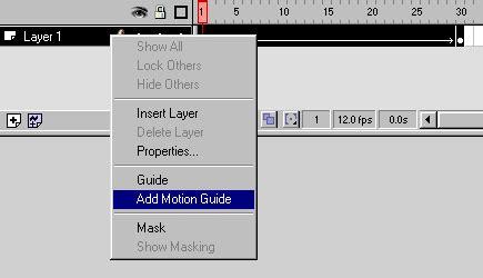 tutorial flash motion guide tweenings flash tutorial