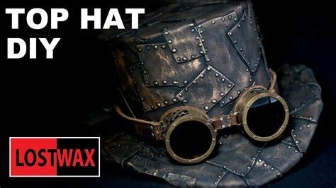 top hat diy steampunk fashion pattern