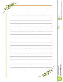 vector blank for letter or greeting card simple form with