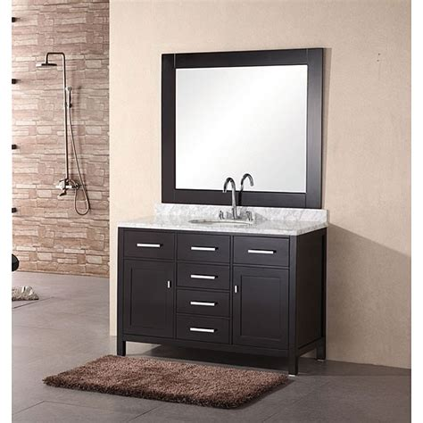 Bathroom Mirror Set by Homeinch Newport Modern Bathroom Vanity Set With Mirror Ideas