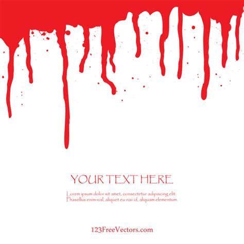 free blood vector by 123freevectors on deviantart