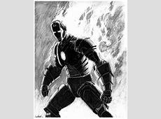 漫画英雄插画欣赏:钢铁侠(3) - 设计之家 Colin