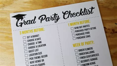 graduation checklist template graduation printable checklist mooshu jenne