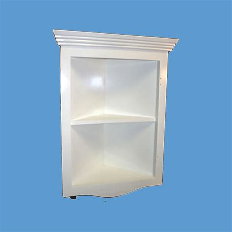 corner shelves white hardwood painted less than
