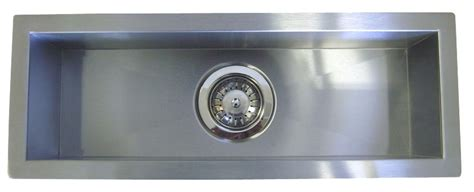 42 inch stainless steel undermount single narrow bowl