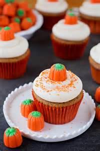pumpkin cupcakes perfect pumpkin cupcakes life made simple
