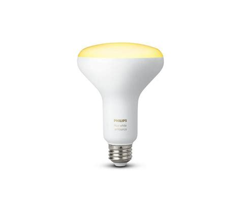 alexa compatible light bulbs philips hue white ambiance br30 60w equivalent dimmable