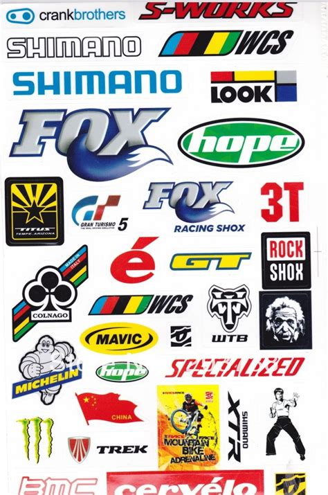 motocross gear brands moutain bicycle frame stickers bike sticker bicycle brand