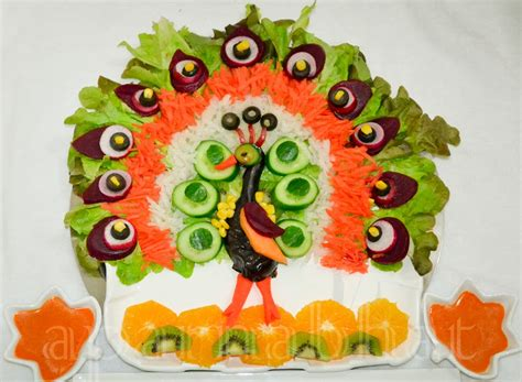 salad decoration ideas of vegetables 7 nationtrendz