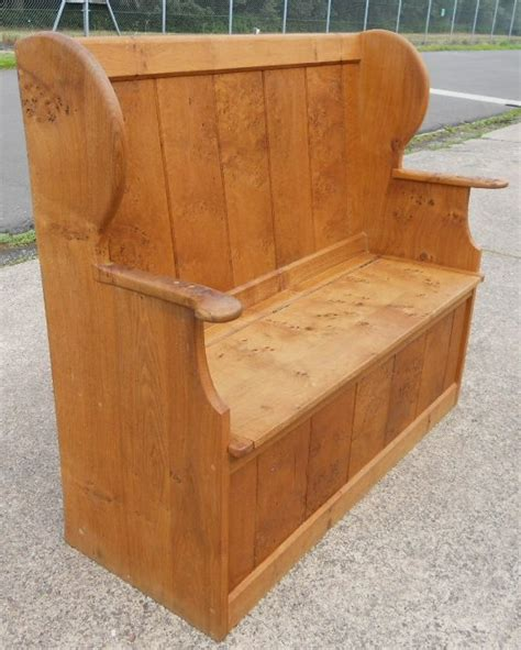 pine bench seat pine settle bench 28 images antique victorian pine