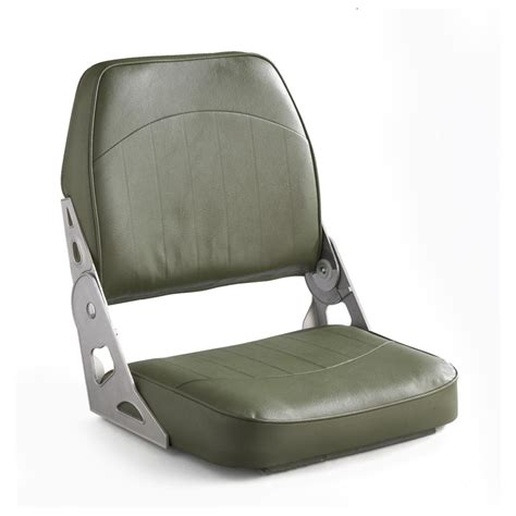 back to back fold down boat seats wise 174 low back fold down boat seat olive drab