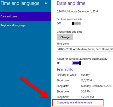 date format php change windows 10 how to change date and time formats