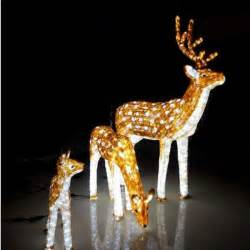 outdoor reindeer with lights led motif light 3d outdoor reindeer lights buy