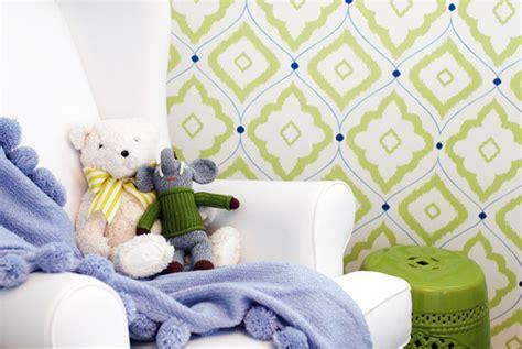 green wallpaper nursery modern gender neutral nurseries project nursery