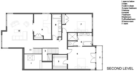 House Plan Details by Compact House With Volumes And Irregularities By