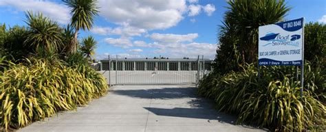 boat storage east auckland secure storage close to waihi beach boat car motorhome