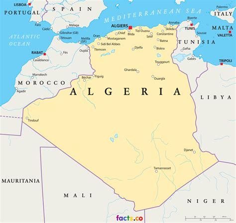 algeria map with cities algeria map political algeria map outline blank