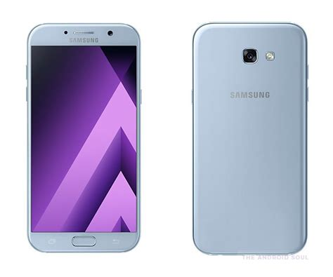 Gliter For Samsung A7 Color Pink samsung galaxy a7 2017 and a5 2017 cloud pink and blue mist color options launched in