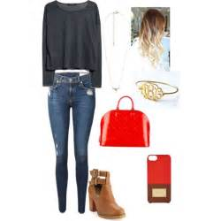 Mongram Necklace Girls Day Out Polyvore
