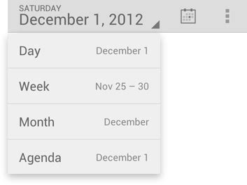 android layout drop down menu drop down menu android actionbar spinner selected item