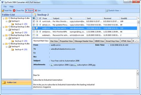 Dbx Tool merge dbx files combine two dbx files into one