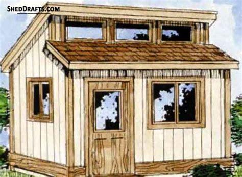 clerestory potting shed plans blueprints  assemble