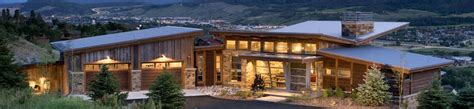 colorado style house plans colorado custom mountain home architects bhh partners