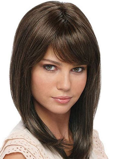 cute shoulder length haircuts longer in front and shorter in back 25 best ideas about cute medium length haircuts on pinterest medium short hair cute haircuts