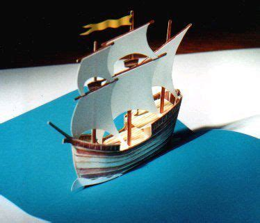 pop up galleon pirate ship you can the model for