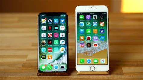 one week using apple s iphone x vs iphone 8 plus