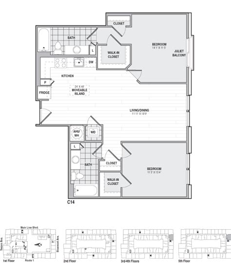 frasier apartment floor plan 526