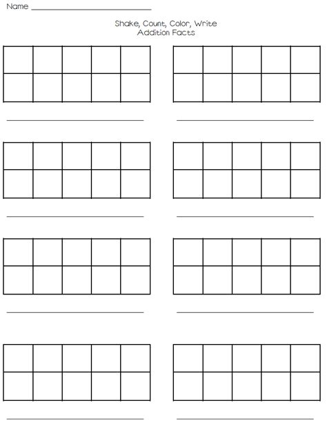 printable blank math worksheets blank addition and subtraction worksheets fact family