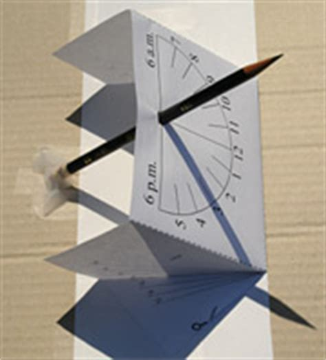 equatorial sundial template how to make a sundial make and use a sundial