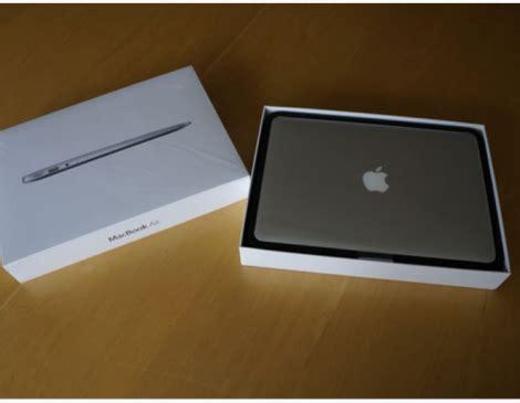Jual Macbook Air Second jual second macbook air md321 fullset garansi murah warung mac