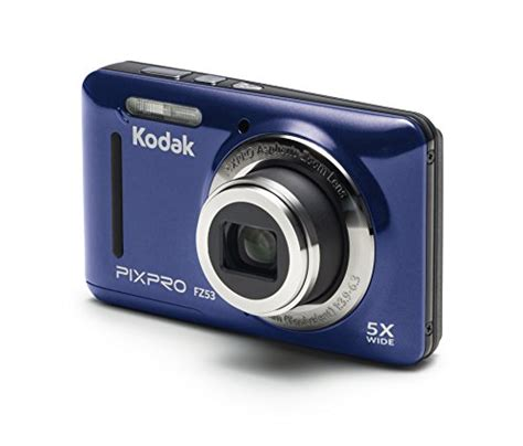 Ces 2008 Kodaks New Digital Cameras Including Touchscreen Easyshare V1273 by Us Free Ship Kodak Fz53 Bl Point And Shoot Digital