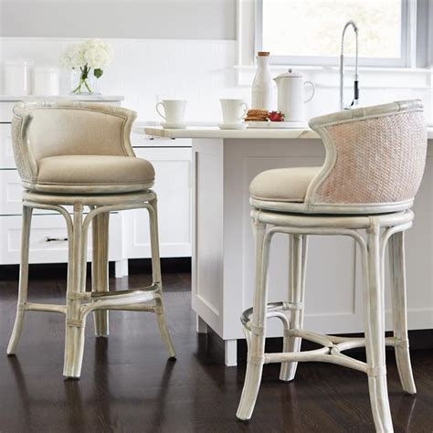 Woven Counter Height Stools by Bali Woven Swivel Bar And Counter Stools Frontgate