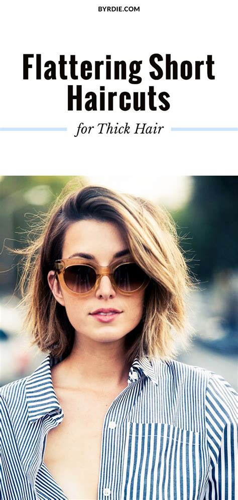 Best 25  Short thick hair ideas on Pinterest   Thick hair