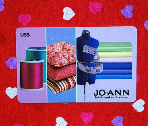 Joann Fabric Gift Card - giveaway 50 gift card to jo ann fabric and craft stores merriment design