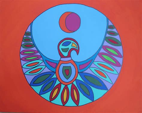 Build A Home by Progress On Inuit Bird Painting Colorfulgirl Com