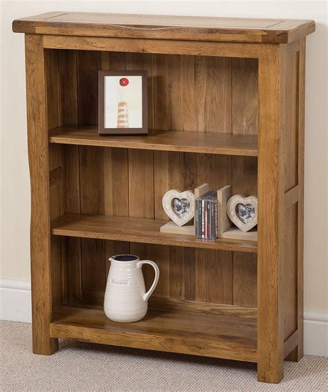 mainstays rustic oak bookcase cotswold oak small bookcase free uk delivery