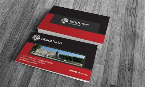 travel agency business card template 187 free download 187 tr00008
