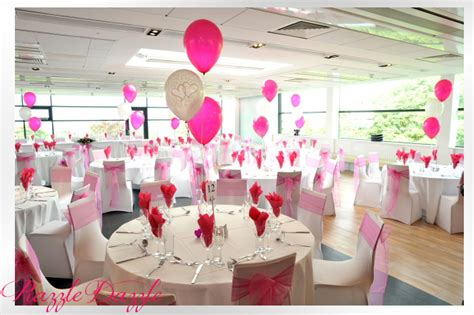 balloon centerpieces for wedding receptions photo gallery razzle dazzle wedding and decorations