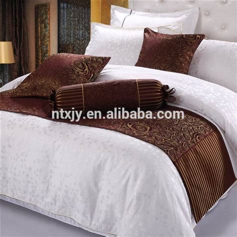 bed scarf runner two pillow covers set cape cod cottage 100 polyester dubai bed runner cushion cover sets buy