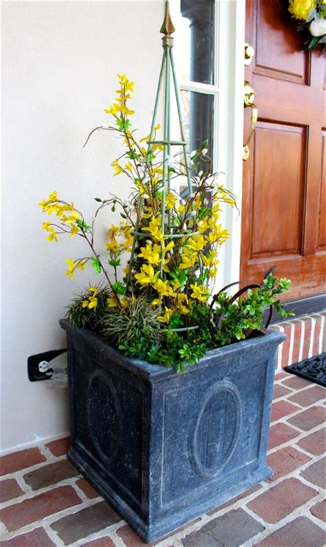 Planter Ideas For Front Doors by Decorating Is Here Vintage American Home