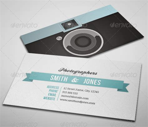 Photography Plastico Business Card Template by Sleek Illustrated Photography Business Card Graphicriver