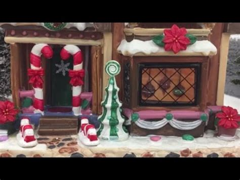 youtube make a village display displays at lemax houses model town 2016